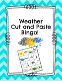 Weather Science: Cut and Paste Bingo