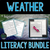 Weather Science Literacy Bundle
