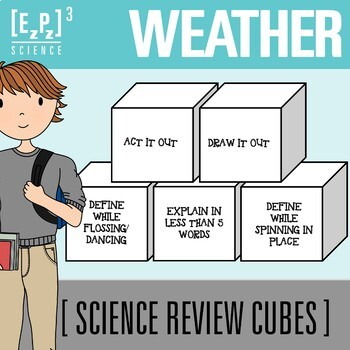 Weather Science Cubes