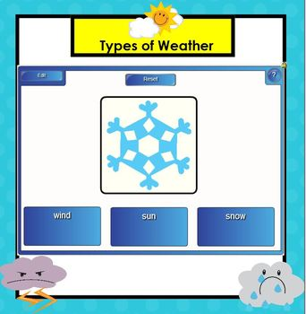 Weather Science SMARTBOARD