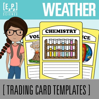 Weather Science Trading Cards