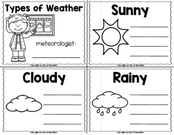 Weather Science Unit
