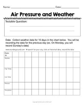 Weather Scientific Argument with Claim Evidence Reasoning MS-ESS2-5