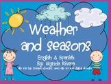 Weather & Seasons- English & Spanish