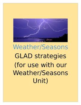 Weather/Seasons GLAD strategies