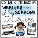 Weather & Seasons Go Digital For Special Education