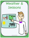 Weather & Seasons - No-Prep Thematic Unit Plan