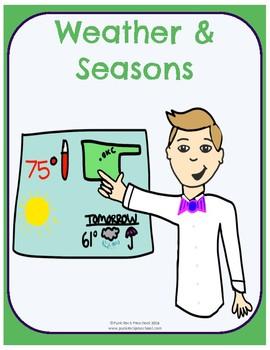 Weather & Seasons - No-Prep Thematic Unit Plan