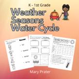 Weather Chart, Seasons, Water Cycle