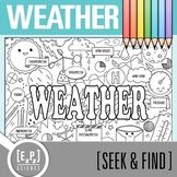Weather Seek and Find Science Doodle Page