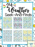 Weather Seek and Finds Counting Numbers To Ten