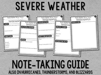 Weather (Severe Weather) Research Project