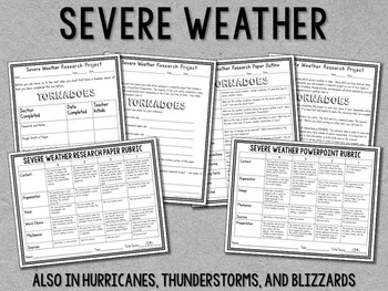 Weather (Severe Weather) Guided Research Project