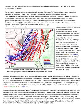 Weather: Forecasting Severe Weather (T-storms) MULTI-LEVEL and NWS Recognized!