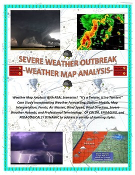 Weather: Severe Weather (National and Regional Map Analysis)  COLORFUL!