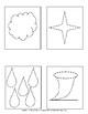 Weather Shapes Pin Pricking Work Homeschooling Montessori Preschool