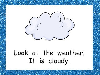 Weather Shared Reading PowerPoint Presentation for Kindergarten- Science