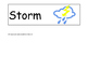 Weather Sight Words