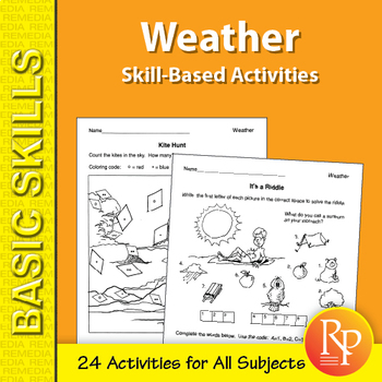 Weather: Skill-Based Activities for Grades 3-4