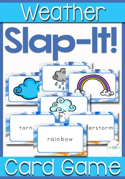 "Weather ""Slap-It!"" Card Game"