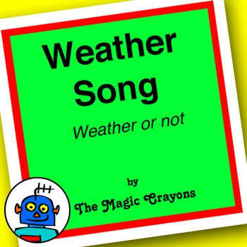Weather Song (Weather Or Not) by The Magic Crayons - MP3