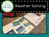 Weather Sorting Activity