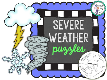 Weather Sorting Puzzles: Severe Weather