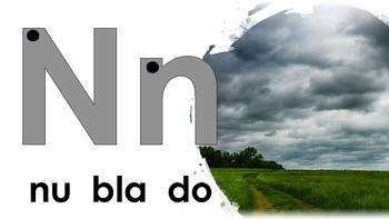 Weather Spanish Vocabulary Beginning Sound