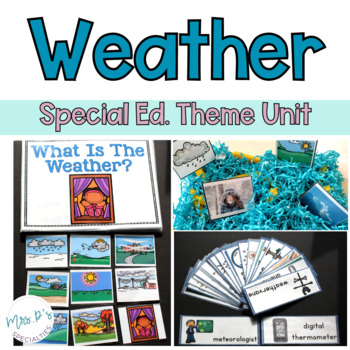 Weather Special Education Thematic Unit