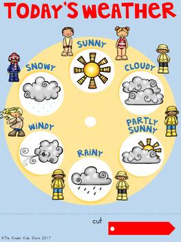 Weather Spinner FREEBIE!