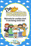 Weather  Chart for Circle Time