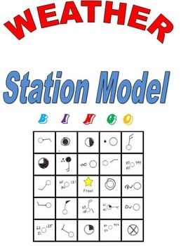 Weather Station Model Bingo