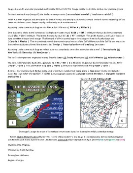 Weather: Station Models and Forecasting (Storm Case Study) - Air Masses/Fronts