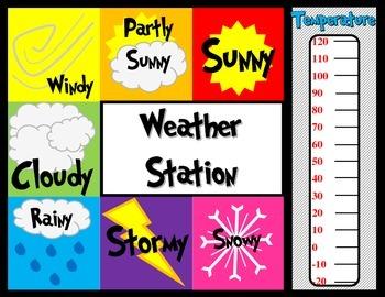 Weather Station Printable