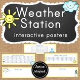 Interactive Weather Station for Calendar or Math Time