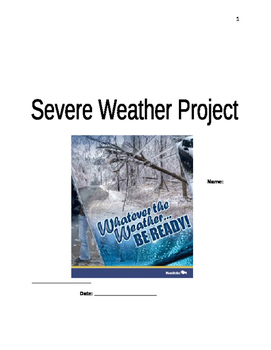 Weather Storm Project