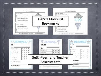 Weather Storms: Tiered Report Writing Templates