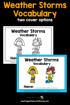 Weather Vocabulary - Weather Storms