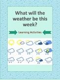Weather Story Learning Activities