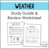 Weather Study Guide and Review Worksheet (SOL 4.6)