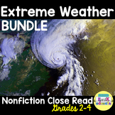BUNDLE-Natural Disasters: Weather Close Reads!