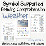Weather - Symbol Supported Picture Reading Comprehension for Special Education