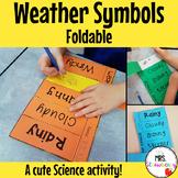 Weather Symbols Foldable Flip Book