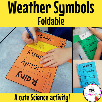 Weather Symbols Foldable Flip Book