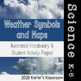 Weather Symbols Illustrated Vocabulary and Graphic Organizers