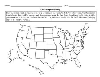 Weather Symbols Map WS