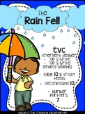 Weather {THE RAIN FELL} ELA & MATH Quick Pack. DISTANCE LE