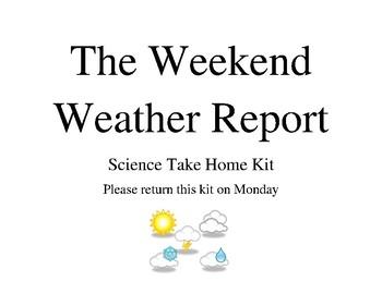 Weather Take Home Kit