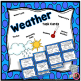Weather Task Cards- 2nd Grade