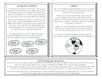 Weather Task Cards: Air Motions